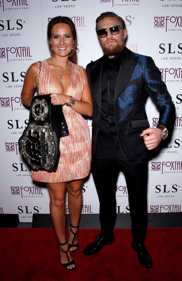 05e43be19 The woman behind the man  Who is Conor McGregor s girlfriend Dee ...