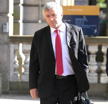 Wants to go back before the inquiry: Michael O'Flynn is considering legal action following the Banking Inquiry's refusal to recall him as a witness.