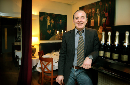 SECOND ACT: Giorgio has thrown open the doors to Marcels after losing almost €3m when the crash hit his restaurant business
