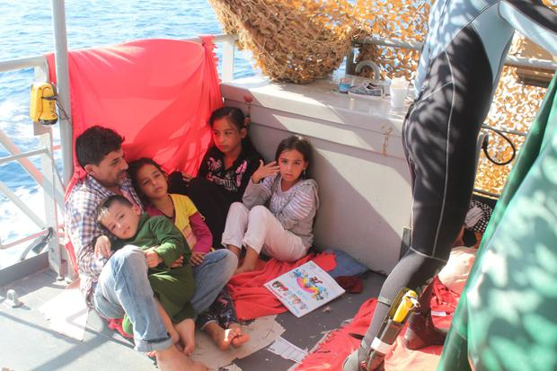 The LÉ Niamh has rescued hundreds of migrants