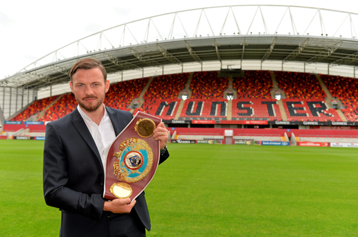 WBO world champion Andy Lee