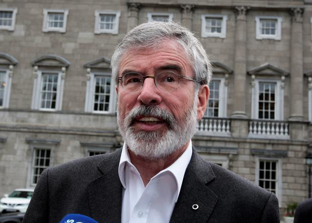Sinn Fein President Gerry Adams has sought to counter the PSNI claims, asserting the IRA