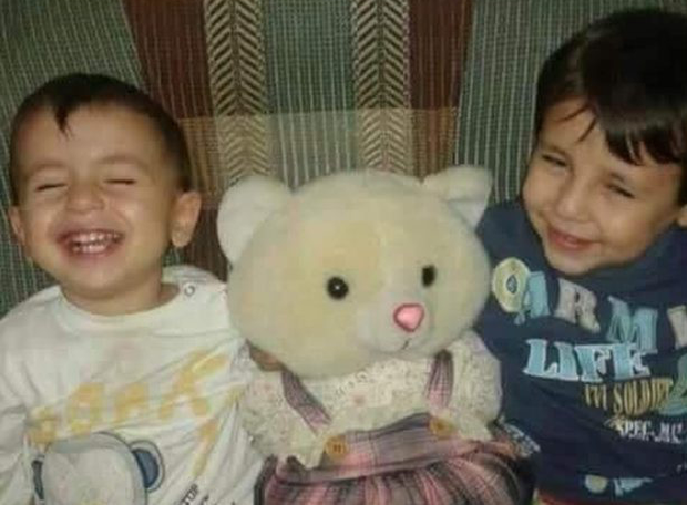 Aylan Kurdi (left) and his older brother Galip - the two young boys whose drowning off the Bodrum coast in Turkey sparked international outrage