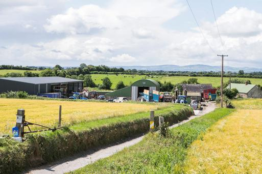 Robert O'Shea's premises outside Littleton, Co Tipperary, which was robbed. Photo: Kyran O'Brine