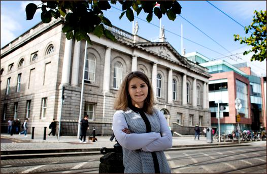 INSPIRATION: Anna Kern was offered a place at RCSI after scoring 575 points in her exams