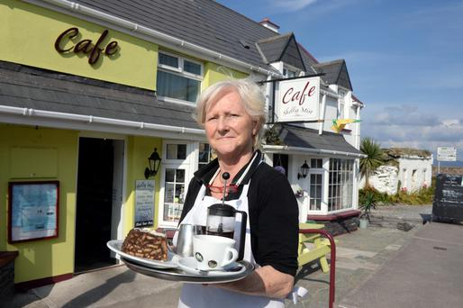Eileen Whelan of the Skellig Mist café in Portmagee, Co Kerry
