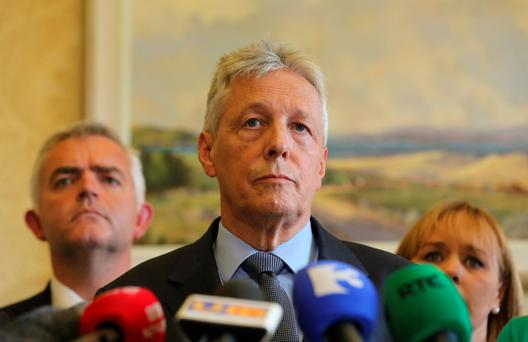 Peter Robinson was in hospital 'as a precautionary measure'
