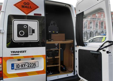 A mobile road safety camera van operated by GoSafe
