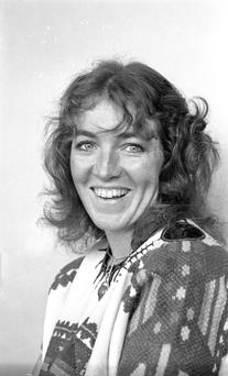 Rosita Sweetman, pictured in 1976, was there to welcome them