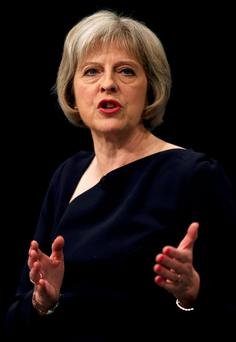 Ms May's speech was widely perceived as a pitch to be the right-wing choice to replace David Cameron in an eventual succession battle