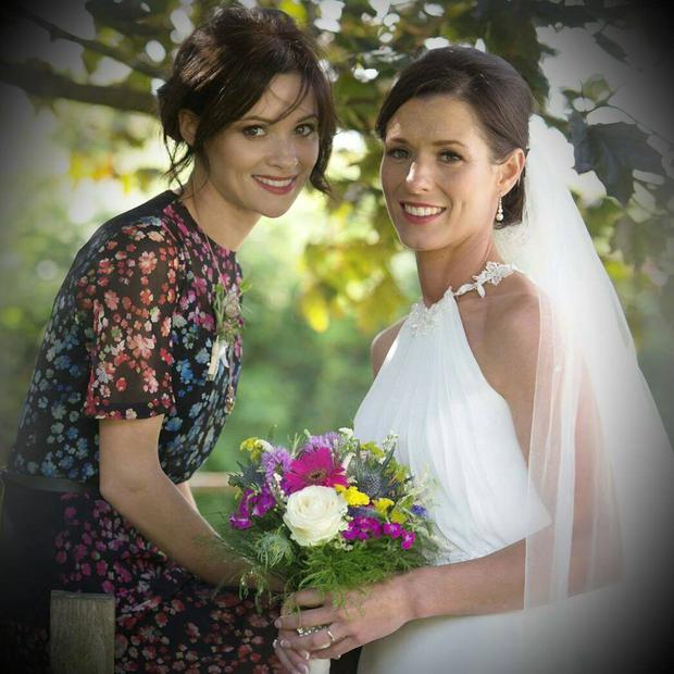Cathriona White and her sister Lisa