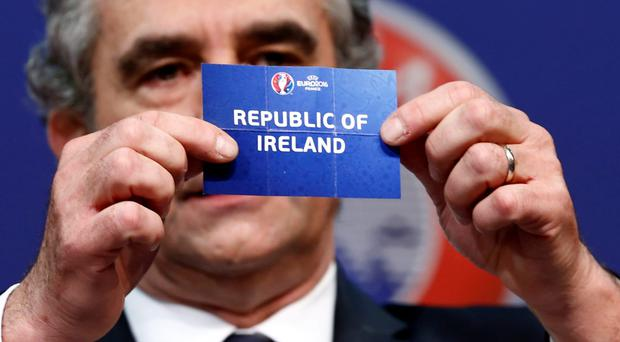 Ireland are drawn to play Bosnia Herzegovina in the play-offs. Photo: Reuters