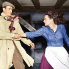 Maureen and John Wayne in the Quiet Man in 1952. Photo: Rex Features