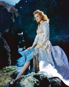Maureen O'Hara at the height of her fame in the 1950s