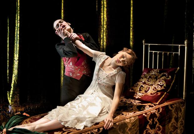 Fresh look: Aurora and Caradoc in Matthew Bourne's Sleeping Beauty, a Gothic Romance