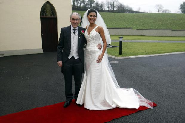 Michaela and her father Micky Harte