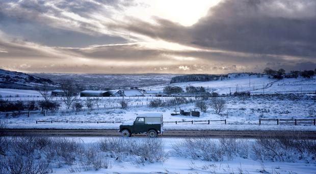 Snow and ice national weather warning in place - commuters warned to expect dangerous driving conditions