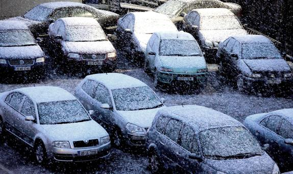 A parking shortage is one of a few gripes that us Irish have at Christmas time.