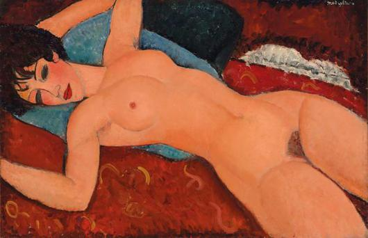 Amadeo's reclining nude