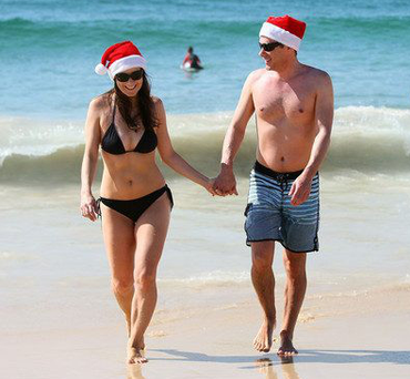 Great escape: Sun-soaked Christmas holidays are back in fashion for Irish holidaymakers, not to mention trips to Lapland