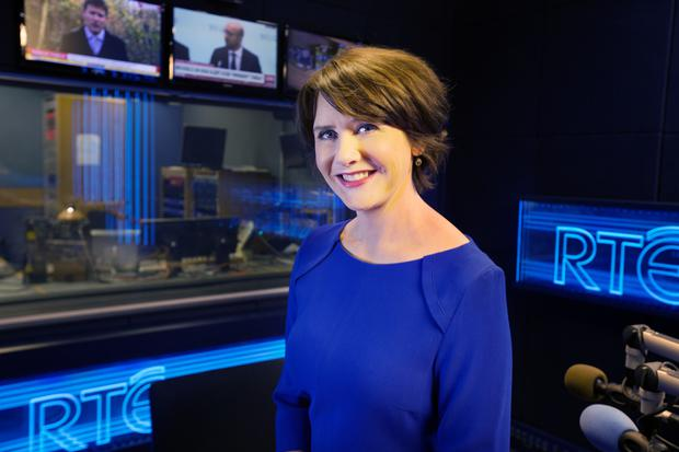 BUSY TIMES: Keelin Shanley, pictured at RTE