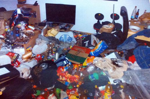Robert Kummer stored bottles of urine and boxes of excrement in his flat for three months