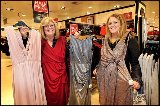 Tina Morrin from Raheny looking for bargains during the Black Friday Sales