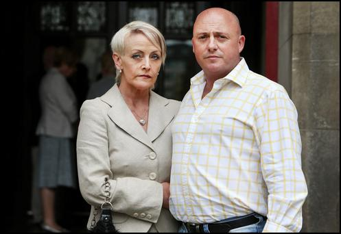 Audrey Mahon and husband, murder accused David Mahon