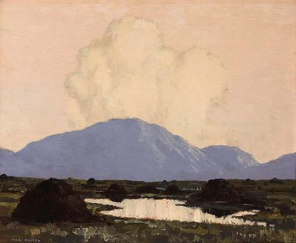 POPULAR: 'Connemara' by Paul Henry made €66,000 at the Whyte's action in the RDS this week