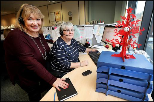 Linda Kenny says Christmas is a very busy time for the society