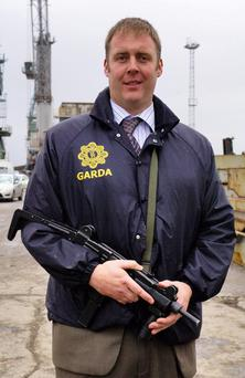 BIG LOSS: Detective Garda Adrian Donohoe was a role model to the youngsters at St Patrick's Gaelic Football Club. Photo: Ciara Wilkinson