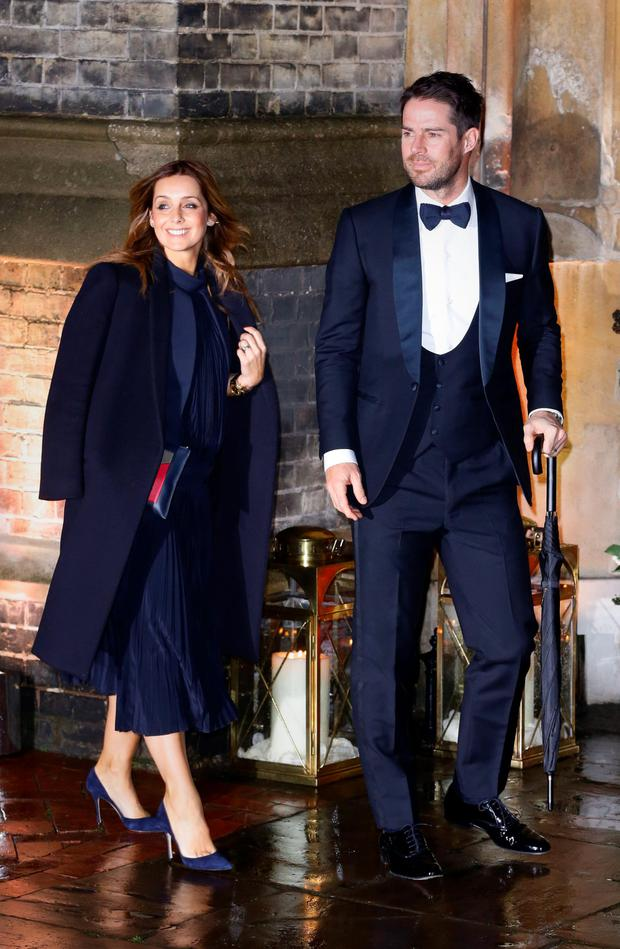 Louise and Jamie Redknapp. Photo: PA