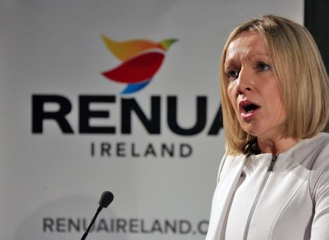 Lucinda Creighton launches her new political party.