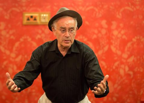 Batt Burns, founder of the Sneem Storytelling Festival, became a professional storyteller 25 years ago and brought his craft to America.