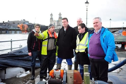 Minister Alan Kelly TD and Cllr. Kevin
