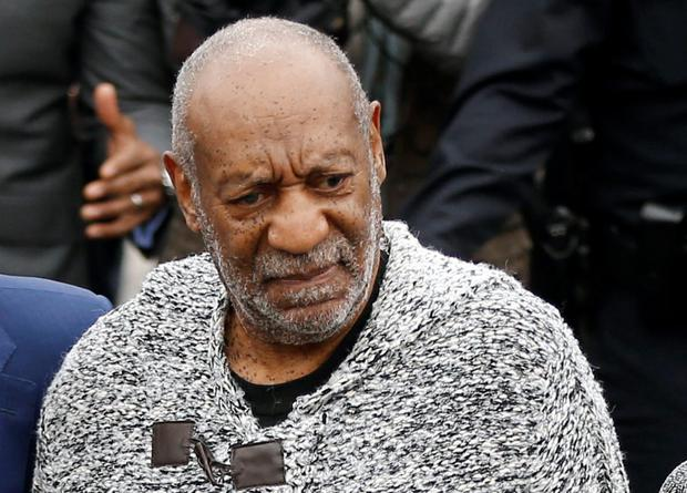 Bill Cosby arrives at the Pennsylvania court