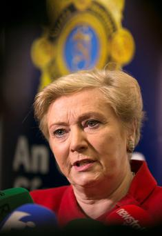 NO BOAT-ROCKERS: Frances Fitzgerald has defended the Policing Authority appointments. Photo: Frank McGrath