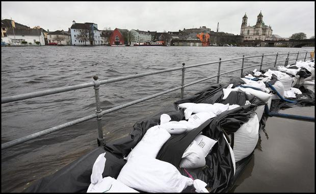 Ministers have urged dredging of the Shannon. Photo: Steve Humphreys