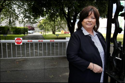 Former Minister for Health Mary Harney. Photo: Steve Humphreys