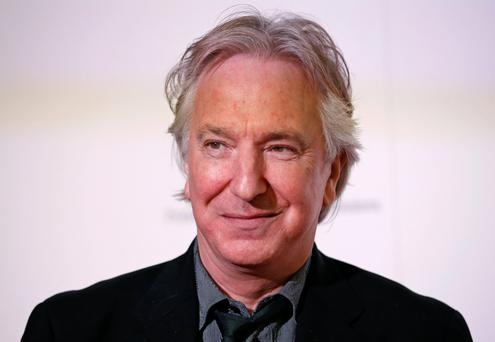 FINAL CURTAIN: Alan Rickman came to fame in middle age and was as much at home on the stage as he was on a film set.