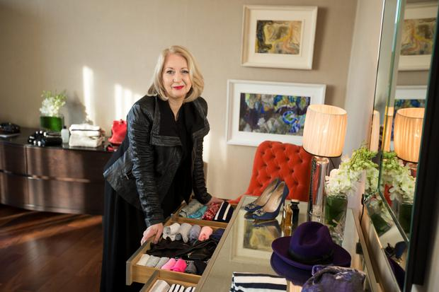 Fashion editor of the Irish Independent and Weekend magazne, Bairbre Power, has been ranked among the top five style influencers in Ireland. Photo: Mark Condren.