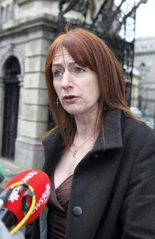 Independent TD Clare Daly. Photo: Tom Burke