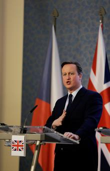 David Cameron. Photo: AP