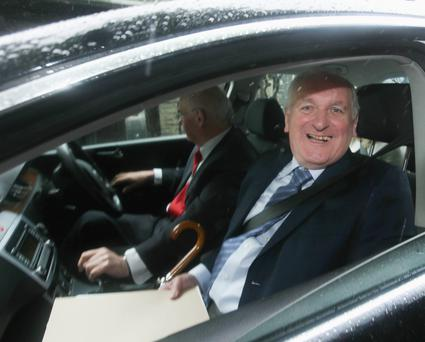 The 'soft landing' predicted by former Taoiseach Bertie Ahern never materialised