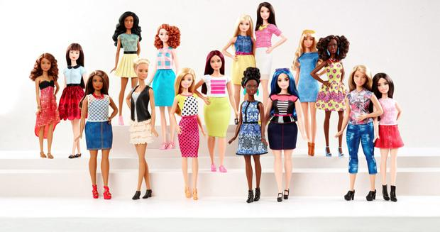 Barbie have announced that the 57-year-old icon will be available in three new distinct body types