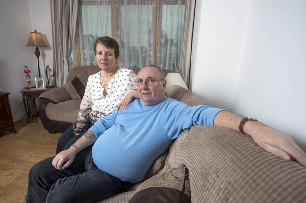 HOME: Patricia and Liam Murphy returned after 30 years