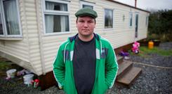 Actor John Connors pictured at home in Coolock. Photo: Douglas O'Connor.