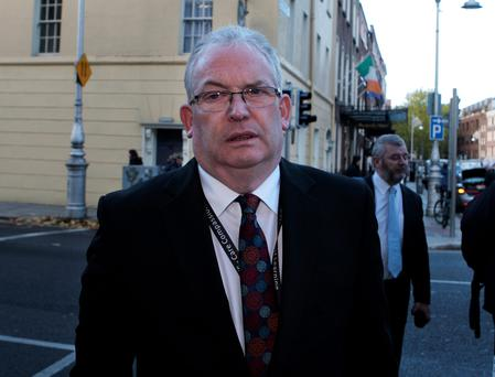 Controversial comment: HSE chief Tony O'Brien. Photo: Tom Burke