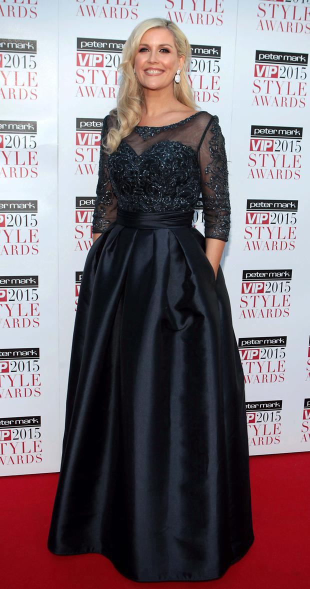 Lisa Fitzpatrick at the VIP Style Awards
