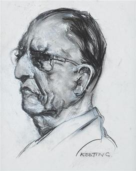 AUCTION: The charcoal sketch of Eamon de Valera
